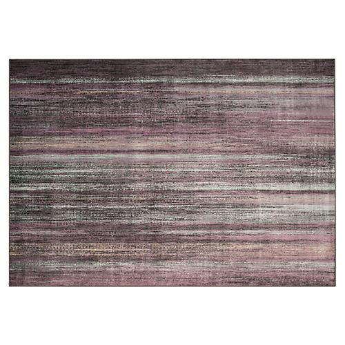 Jaques Rug, Charcoal/Multi