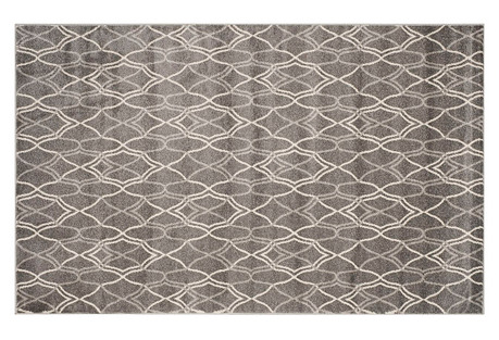 Claus Outdoor Rug, Gray/Gray