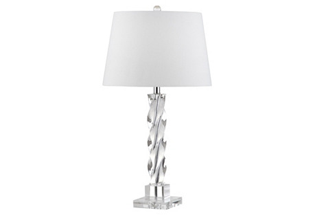 Ice Palace Table Lamp, Crystal