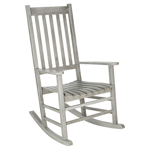 Sia Rocking Chair, Gray