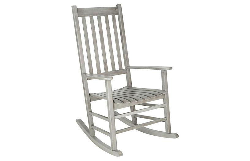 Sia Rocking Chair, Gray