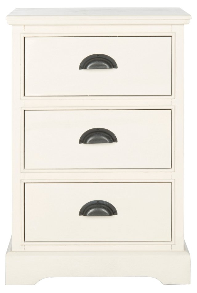 Gillian Nightstand, White