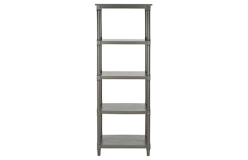 Ollie Bookcase, Gray