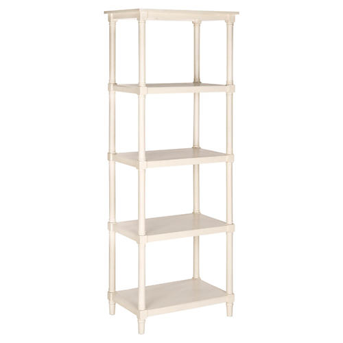 "Ollie 66"" Bookcase, White"