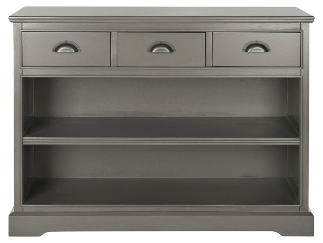 """Pencey 39"""" Cabinet, Gray"""