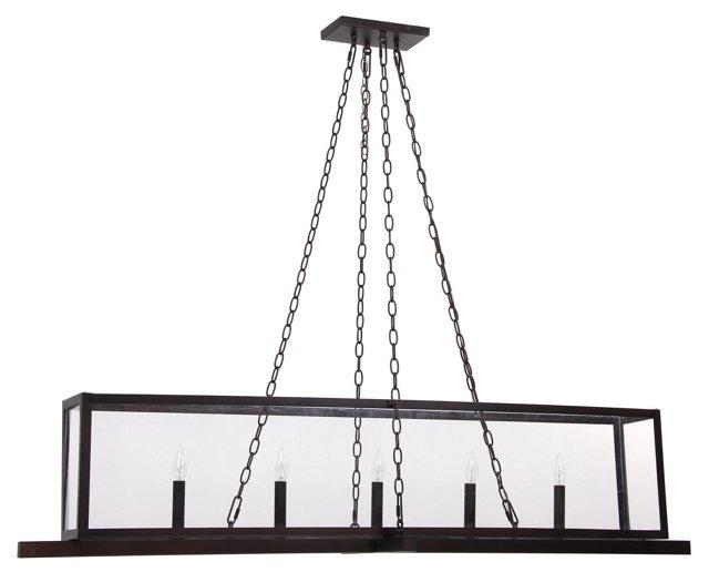Hillcrest 5-Light Linear Fixture, Bronze
