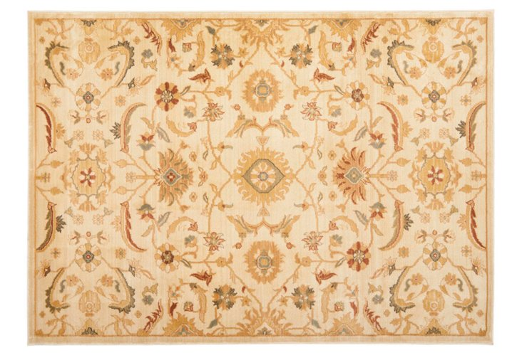 8'x11' Philo Rug, Brown/Gold