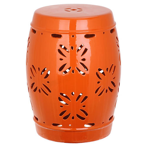 Sally Garden Stool Orange  sc 1 st  One Kings Lane & Garden Stools - Living Room - Furniture | One Kings Lane islam-shia.org