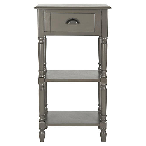 Chelsea Nightstand, Steel