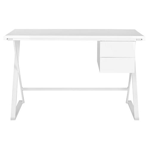 laura desk white