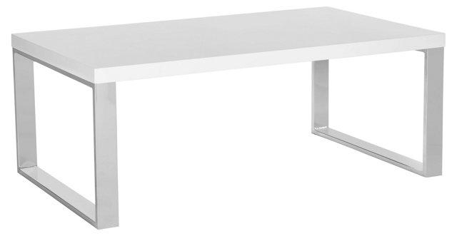 Renley Coffee Table, White