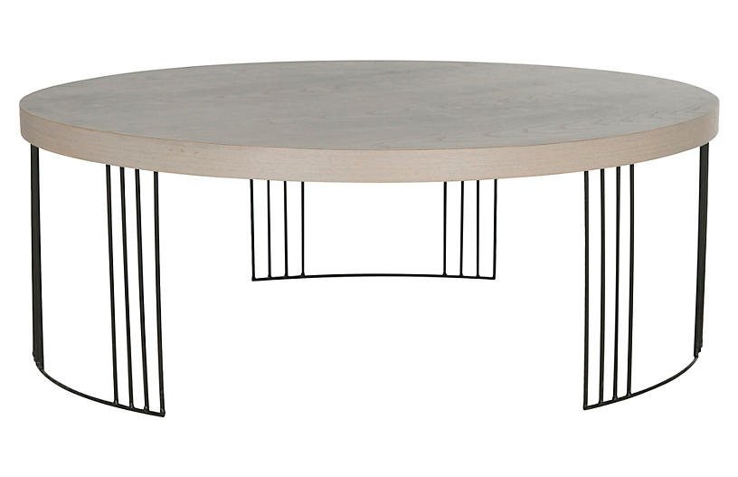 Bailey Coffee Table - Gray