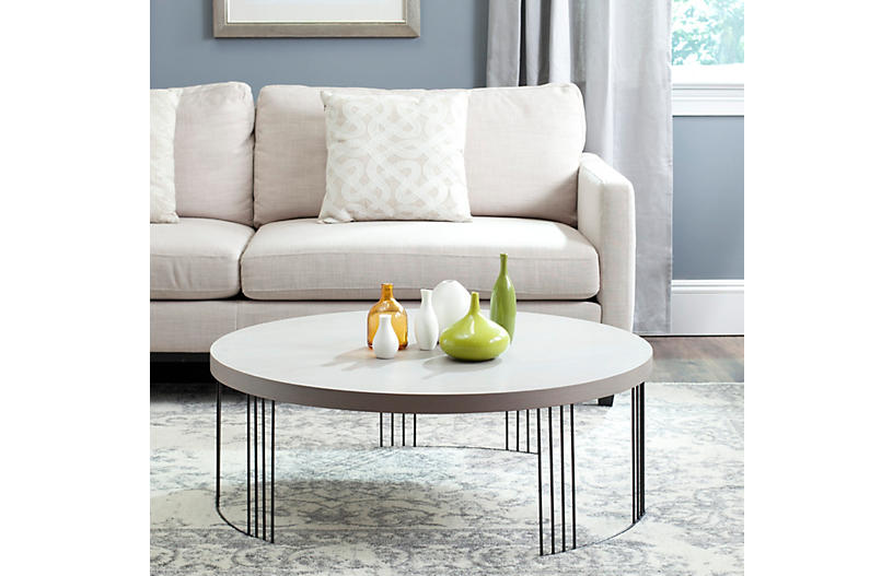 Bailey Coffee Table Gray Coffee Tables Living Room Furniture One Kings Lane