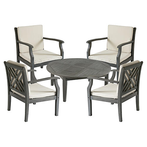 Outdoor Turo Coffee Set, Gray