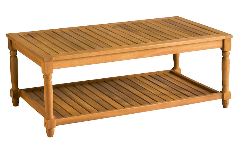 Lovell Coffee Table, Natural