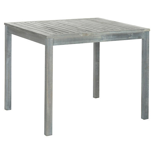 """Outdoor 23"""" Yarmouth Dining Set, Gray"""