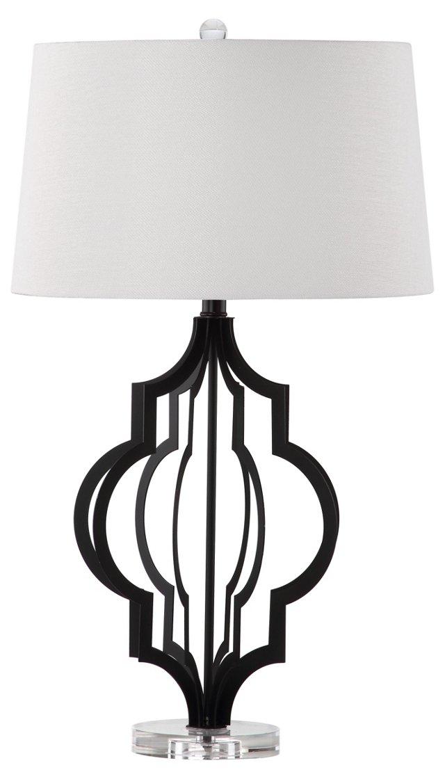 Flint Table Lamp, Black