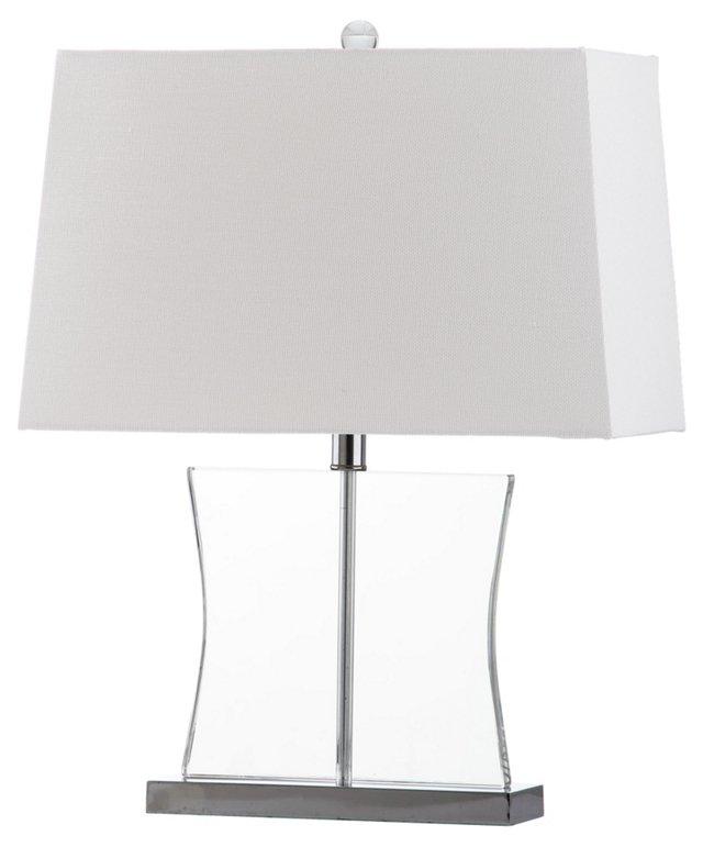 Salcha Table Lamp, Clear