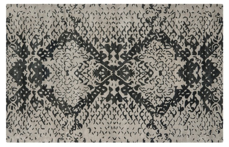 Cleveland Rug, Gray/Charcoal