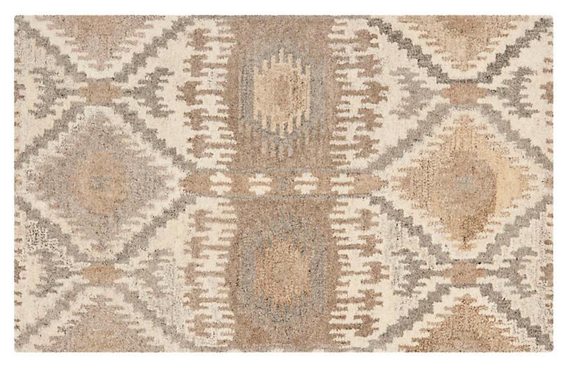 Boone Rug Beige Natural Wool Rugs By Material Rugs