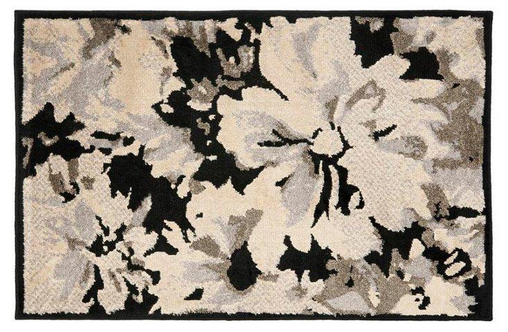 Ellery Rug, Black/Cream/Gray