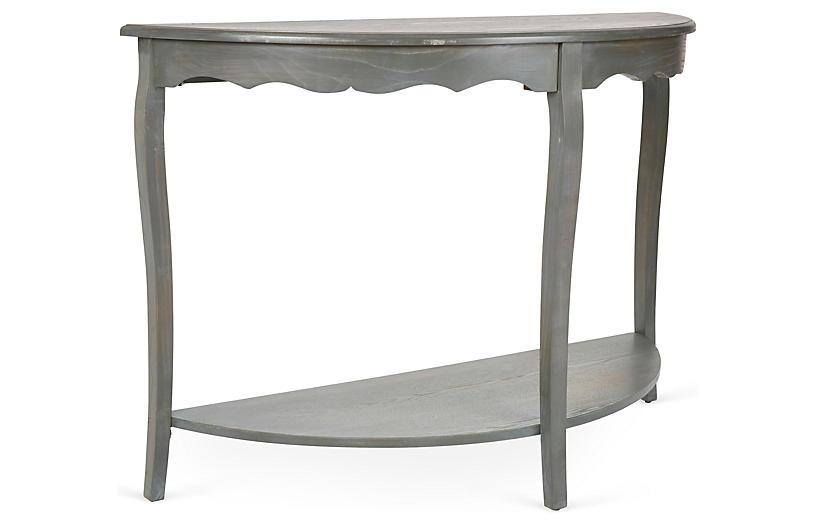 Elling 2-Shelf Console - Gray