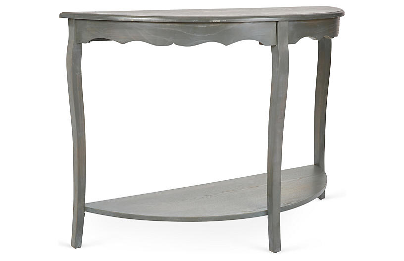 Elling Console, Distressed Ash Gray