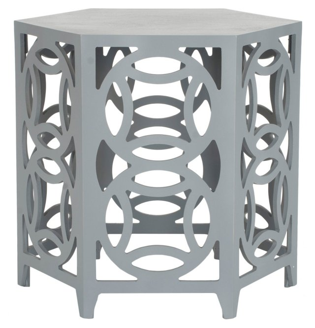 Amaryllis Side Table, Gray