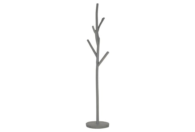 Eliza Coat Hanger, Gray