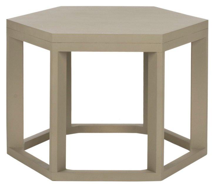 Lenora Side Table, Sand