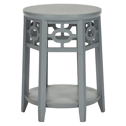 Elliot Side Table, Gray