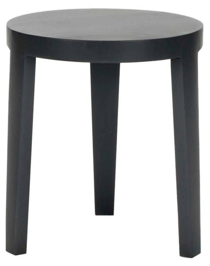 Price Side Table, Dark Charcoal