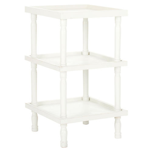 Phineas Side Table, White