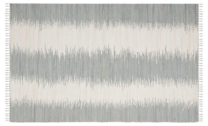 Uma Flat-Weave Rug, Gray