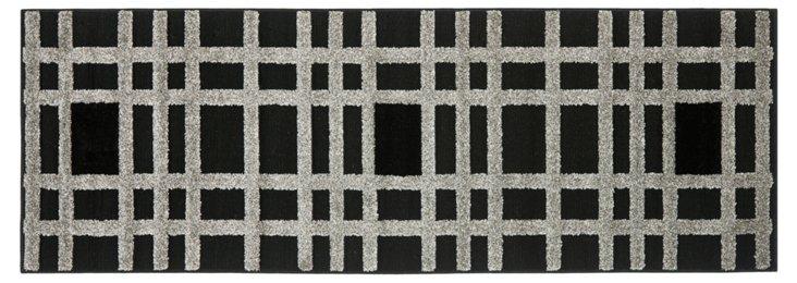 Otto Rug, Black/Gray