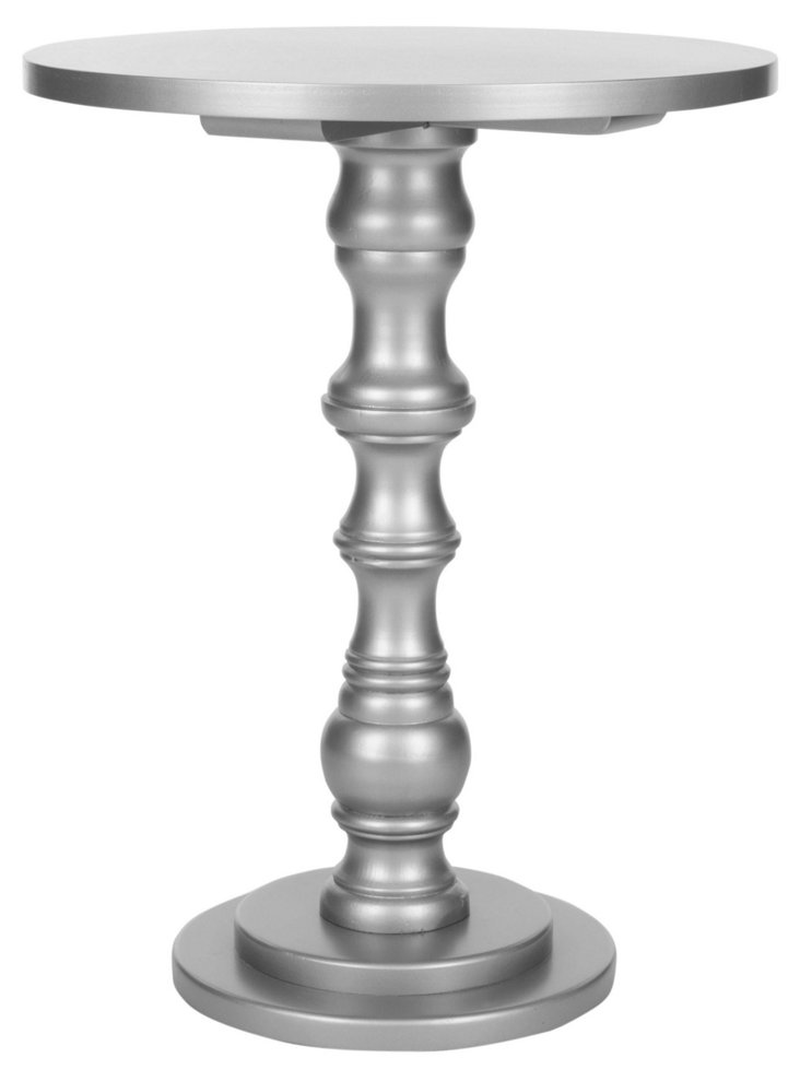 Felix Accent Table, Silver
