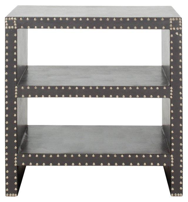 Edie Side Table, Gray