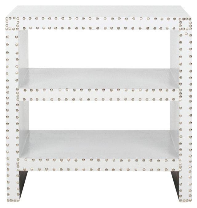 Edie Side Table, White