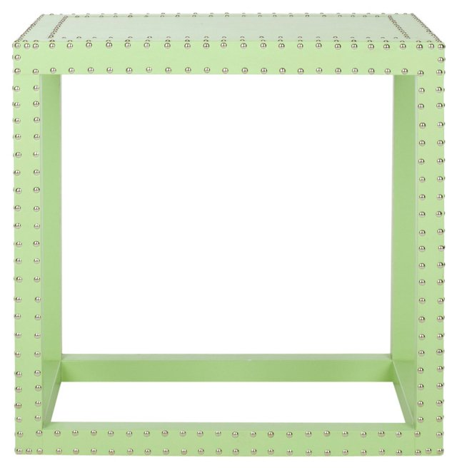 Lorne Side Table, Lime Green