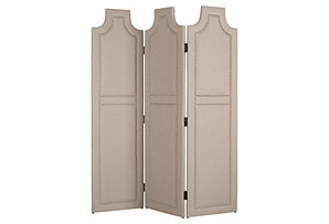Beatrix Room Screen, Taupe