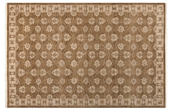 Hilda Oushak Rug, Brown