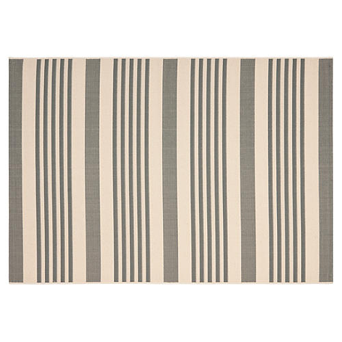 Collin Outdoor Rug, Gray