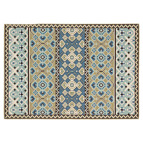 Dawson Outdoor Rug, Blue