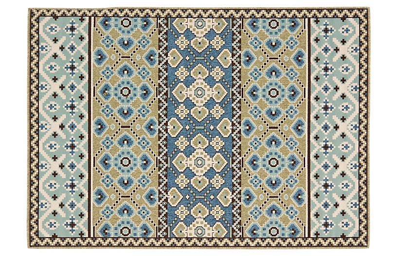 Dawson Outdoor Rug Blue Outdoor Rugs Rugs One Kings Lane