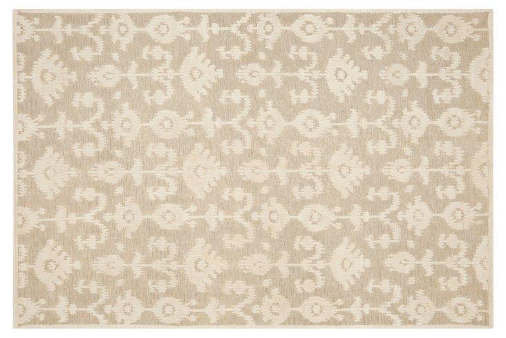 Oria Rug, Linen/Antique White