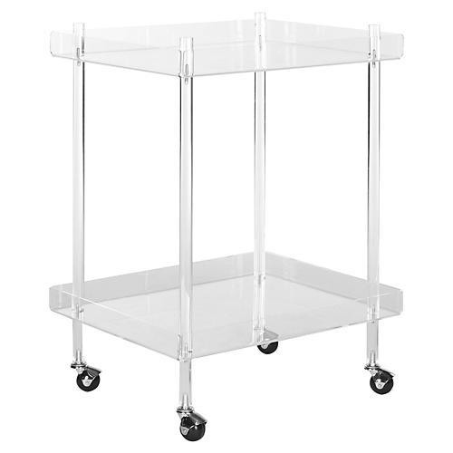 Bailey Bar Cart, Acrylic