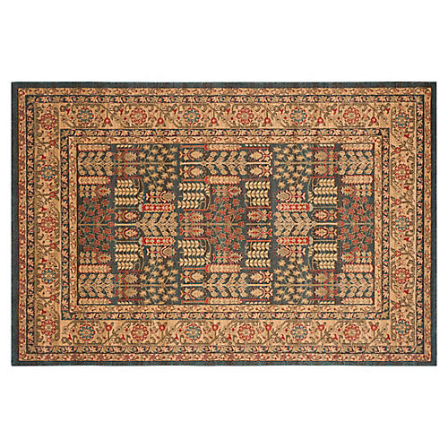 Kastas Rug, Navy/Natural
