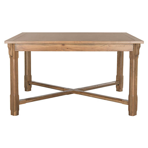 "Jens 54"" Dining Table, Natural"