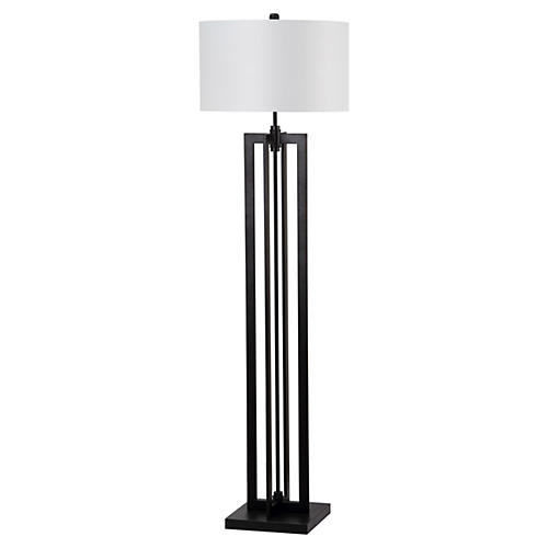Tower Floor Lamp, Black