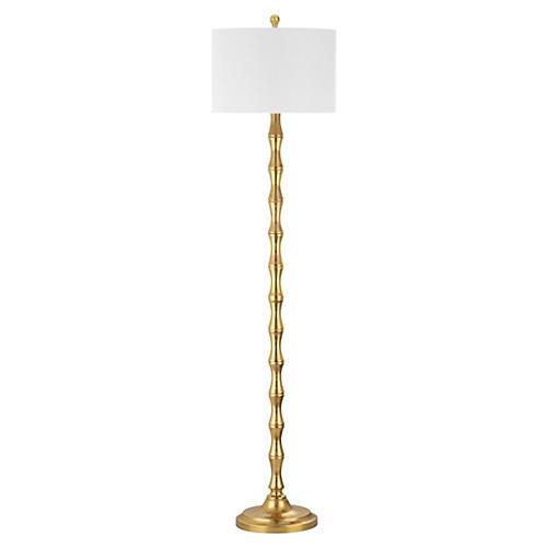 Milo Floor Lamp, Gold